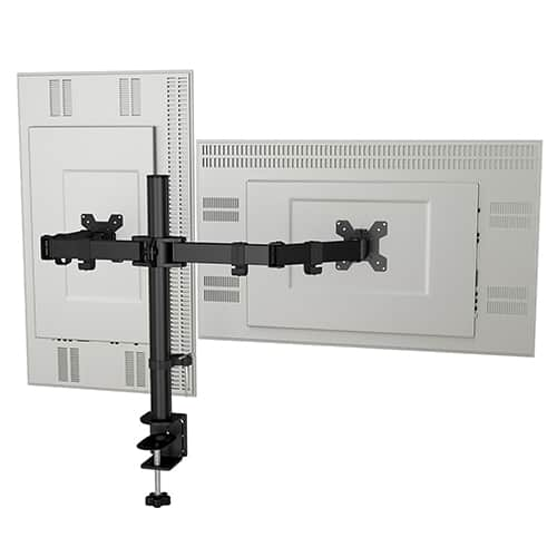 Loop Alloy dual monitor mount 1