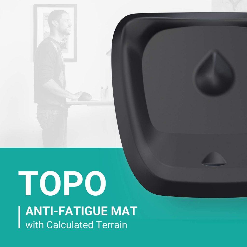 Topo Comfort Mat by Ergodriven