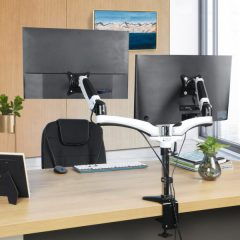 HUANUO Dual Arm Monitor Stand Review