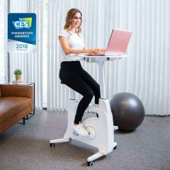 FlexiSpot All-in-One Desk Bike Deskcise Pro V9 Review
