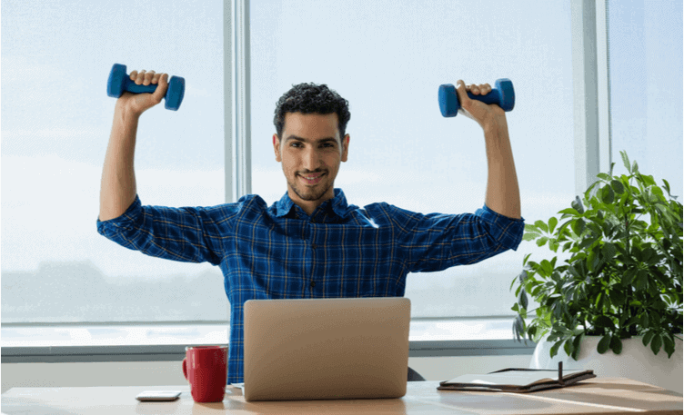 Arm Exercises to Do at Your Desk