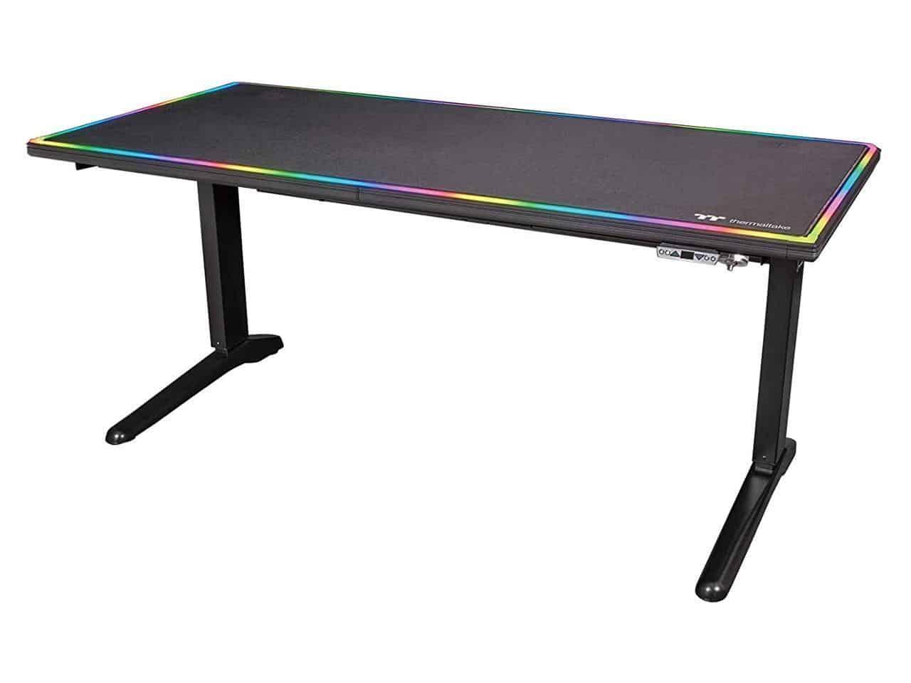 Thermaltake Tt Gaming Level 20 RGB Battlestation Gaming Computer Desk