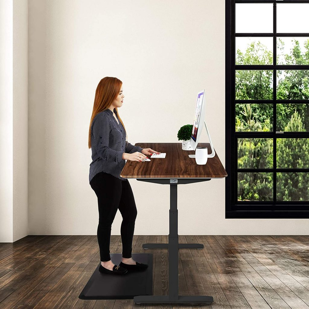 Seville Classics Airlift Pro Electric Adjustable Standing Desk 2