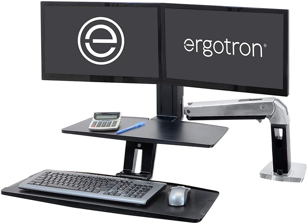 Ergotron WorkFit A Dual Workstation Converter Review