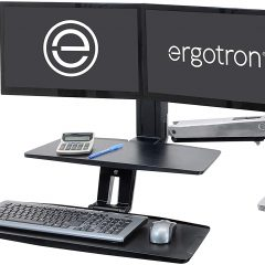 Ergotron WorkFit A Dual Workstation Converter Review