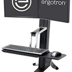 Ergotron WorkFit S Dual Sit-Stand Workstation Converter Review