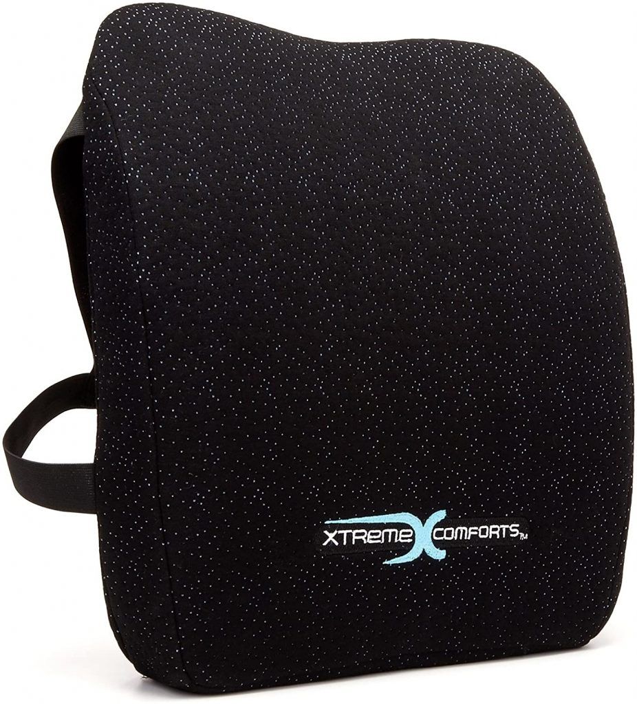 Xtreme Comforts Memory Foam Back Support Cushion Review