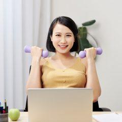 13 Aerobics Exercises at Work